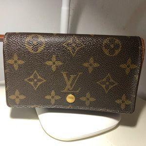 LV Porte-Tresor Billets Wallet